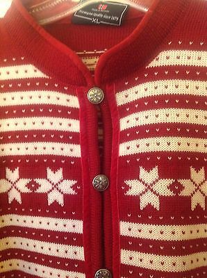 Dale of Norway Fana Snowflake Christmas Norwegian Sweater Vintage But New | eBay