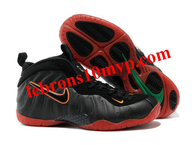 Nike Air Foamposite Pro Black/Red/Green