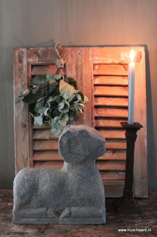 Stenen ram grijs, dressoir decor ideas