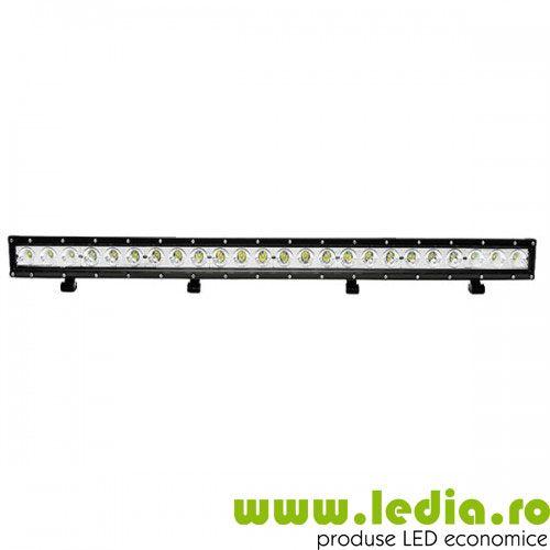 led bar led auto 4x4 120w 100cm auto suv 4x4 ford mitsubishi suzuki toyota