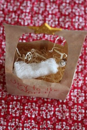 Paper Bag Manger Craft - I Can Teach My Child!