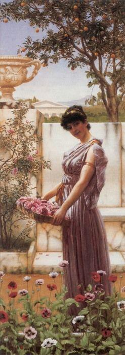 Джон Уильям Годвард Цветы от Венеры (247x700, 70Kb)