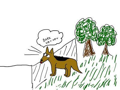 Mit hundeliv med Vaks.: Jeg undrede mig / I wondered...