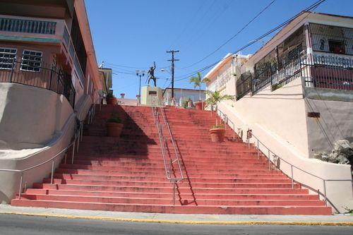 Escalinata de Yauco (Stairs in Yauco's town) ~ Yauco, Puerto Rico