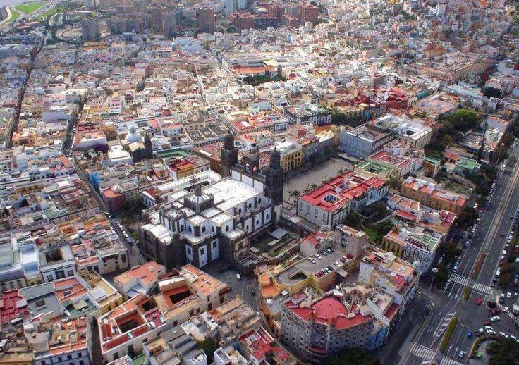Downtown Las Palmas de Gran Canaria, Spain