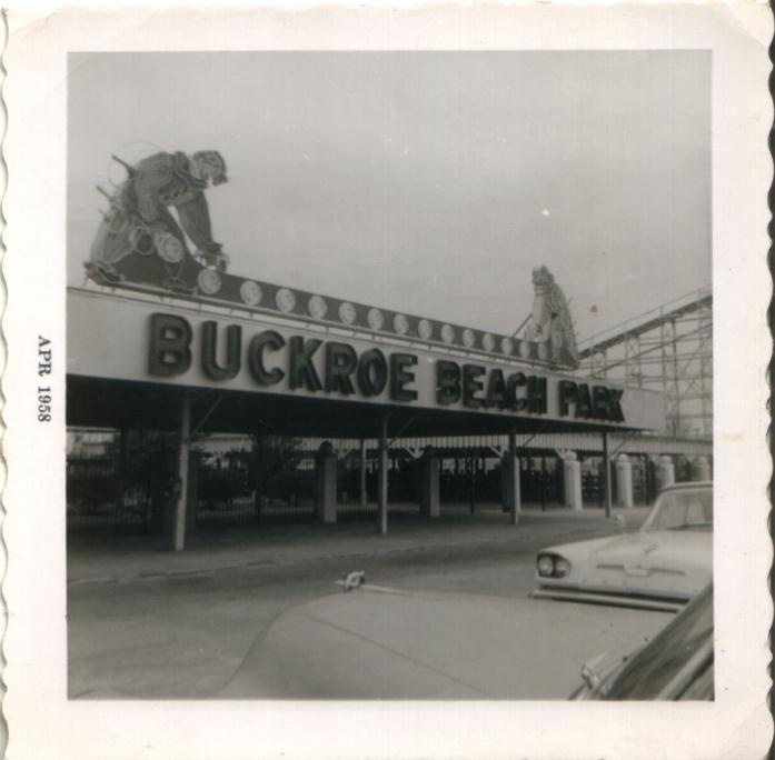 From the Past:Entrance to Buckroe Beach Amusement Park. I ...