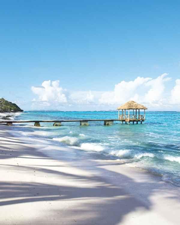 12 Best Caribbean Beaches for Weddings | Caribbean Destination Weddings | Top Wedding Venues | Petit St. Vincent