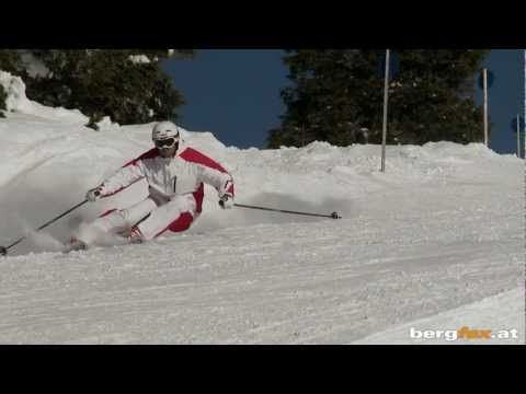 bergfex Skikurs: Carving Technik für Fortgeschrittene - Skifahren - YouTube
