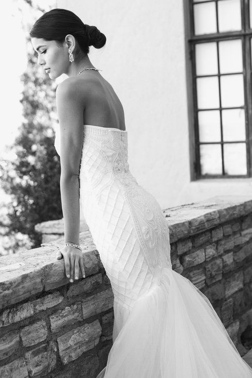 Trish Peng Custom Bridal Juliette Gown www.trishpeng.com Hand beaded