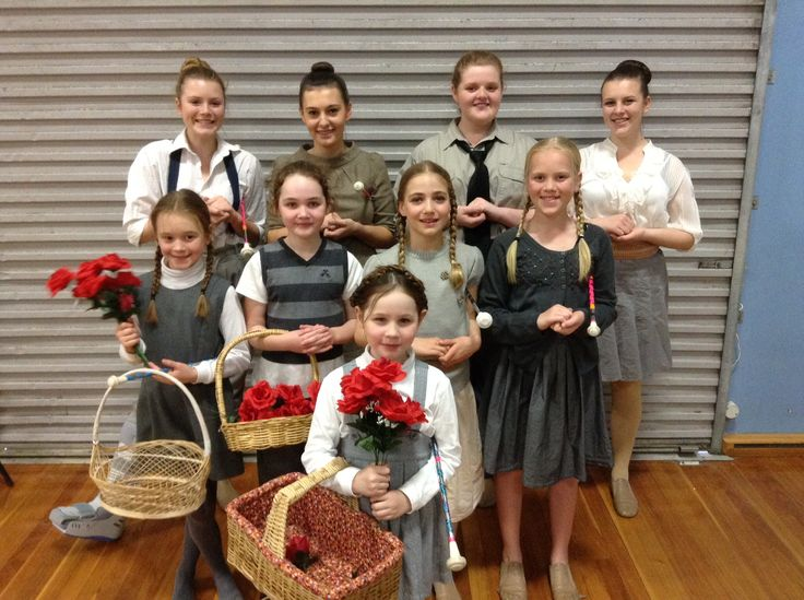 Our gorgeous junior Sound of Music girls - 2015 State Champions