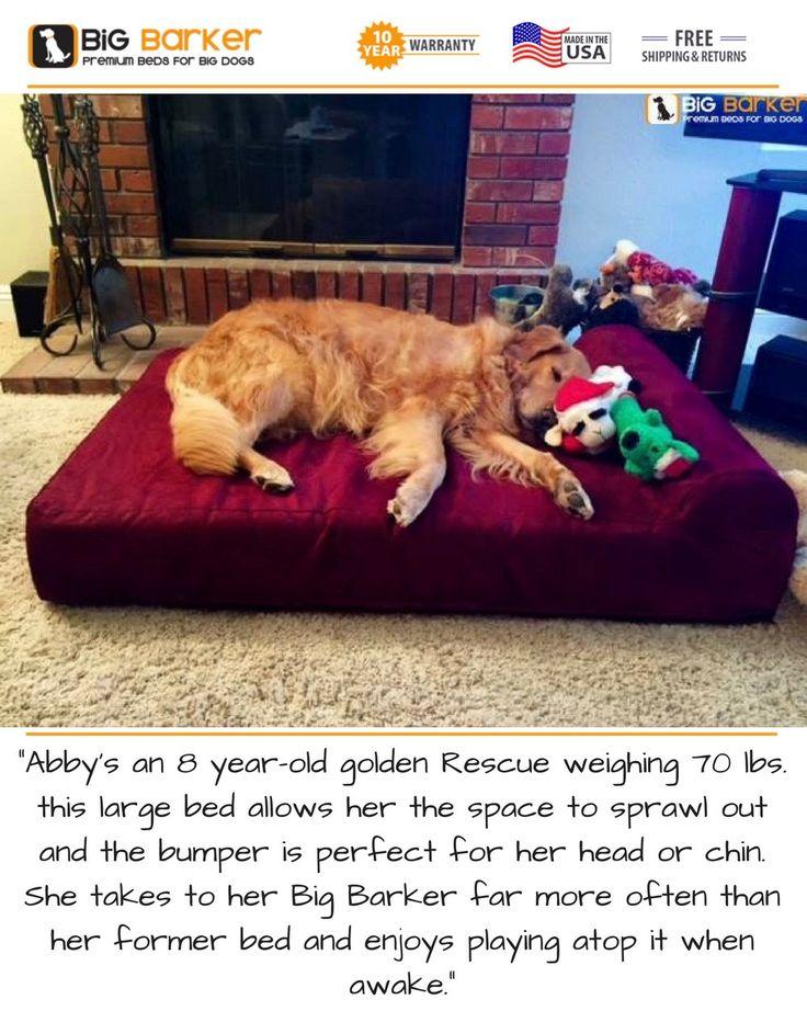 723 best Dogs on Big Barker Beds images on Pinterest