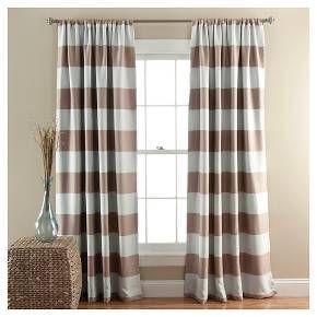 Stripe Curtain Panels - Room Darkening - Set of 2