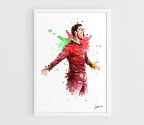 Cristiano Ronaldo Portugal national football team FIFA by NazarArt