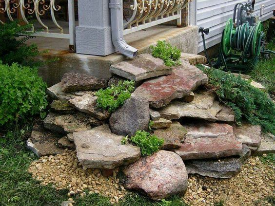 decorative drainage ideas - Google Search