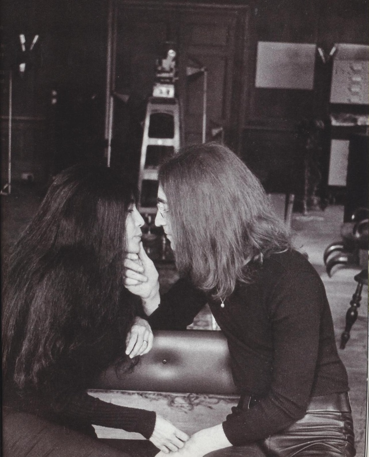 John Lennon and Yoko Ono-during their entire relationship they only spent a few days apart, they couldn't stand to be separate. A real inspiration to love, they really were true lovers