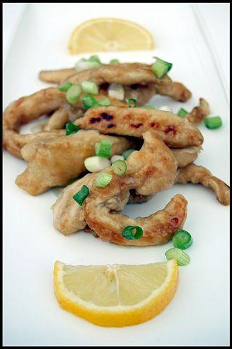 Poulet frit, sauce au citron | Chez Becky et Liz, blog de cuisine anglaise