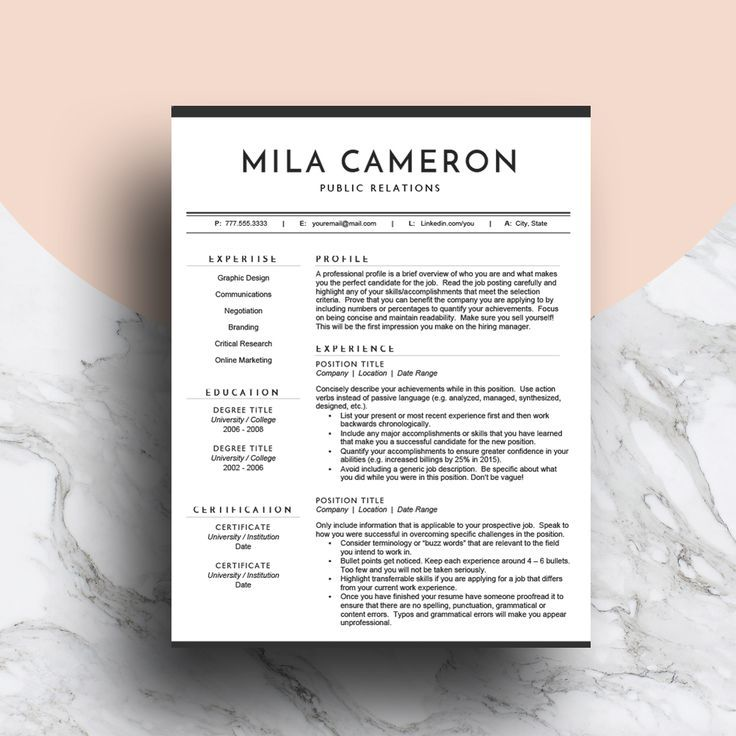 Best Professional Resume Templates Images On   Cv