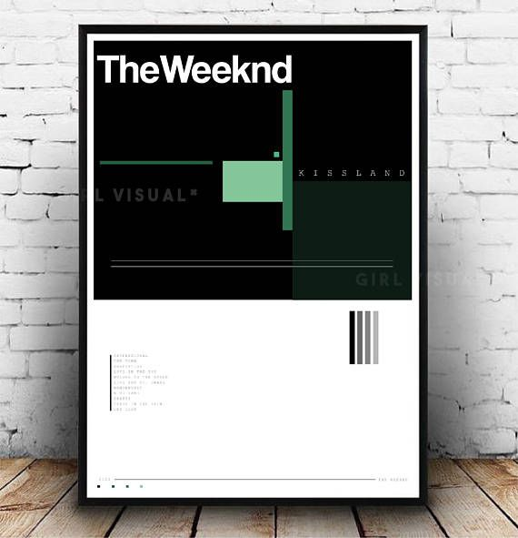 This The Weeknd Kissland album art poster would make a great addition to any room and also would make a great gift! Perfect present for a The Weeknd fan! Especially for those who like The Weeknd Kisslans album! This is my own interpretation of The Weeknd Kissland album art. Matches lots of Album art pieces on our store including the likes of: Frank Ocean, Kendrick Lamar, Kanye West and Drake! DETAILS:  - A3 in size - Printed onto 210 GSM silk poster paper - Packaged in a postage tube, so its…