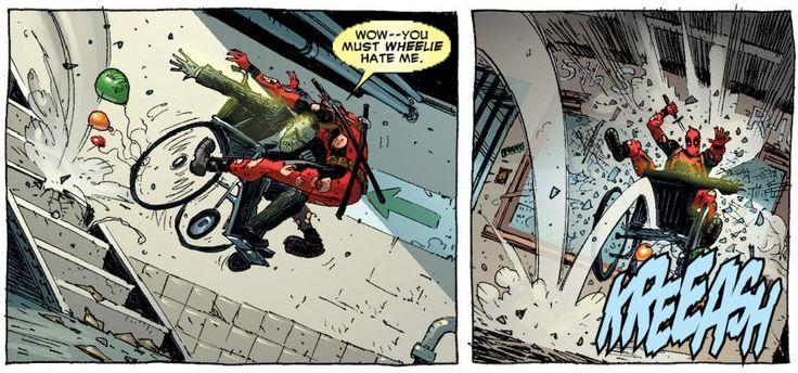 It's Deadpool time!
