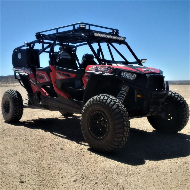 Used 2016 Polaris RZR XP 4 1000 EPS ATVs For Sale in California. Polaris 1000 4 Seater Custom Safari / Chase RZR.<br />The list of upgrades is endless, no expense spared. <br /><br />The vehicle has almost zero miles since it was a SEMA show vehicle. This has not been used for fun only SEMA and display, very low miles.<br /><br />Custom build long travel race suspension. Full Custom upgraded suspension. Wider Stance For Better Performance. <br /><br />Custom: Radius Roll Cage, Front…