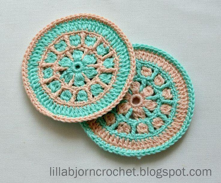 Mejores 182 imágenes de Crochet Mandala en Pinterest