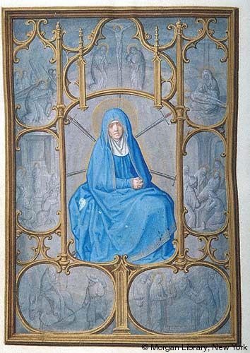 Da Costa Book of Hours, MS M.399 fol. 92v. Probably made ca. 1515 for a member of the Portuguese Sá (Saa) family of Porto.