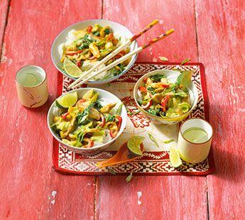 Kipschotel met paksoi en kokosmelk - Recept - Jumbo Supermarkten