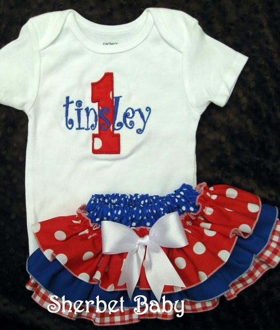 4th of July  4th of July  4th of July: Babies, 4Thofjuly, Idea, Tutu, Ruffle Diaper Covers, 4Th Of July, Baby Girls, Kid