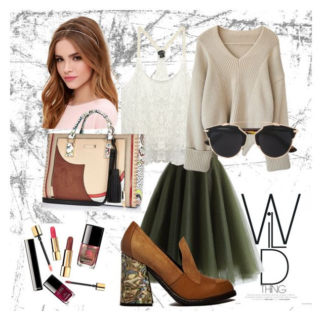 """""""Untitled #7"""" by zuxrav on Polyvore featuring Chicwish, J.W. Anderson, Wet Seal, Lulu*s, River Island, Christian Dior, women's clothing, women, female and woman"""