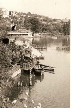 Bir zamanların Küçükçekmece gölü