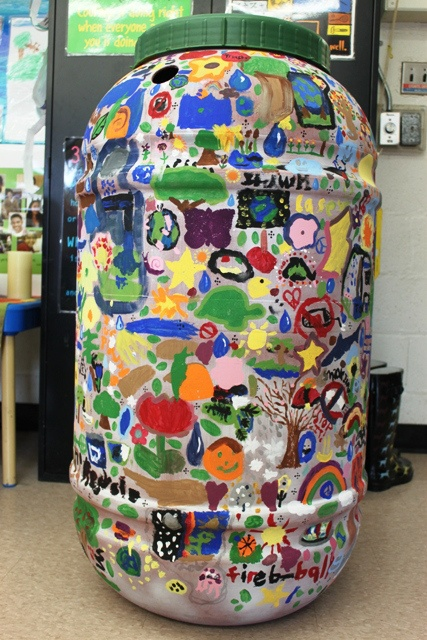 trash & rain barrel art | col.2