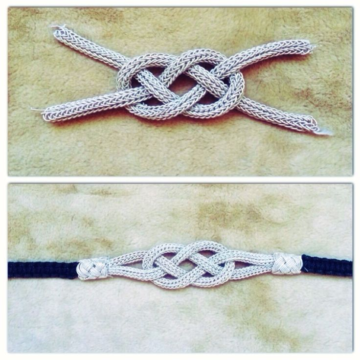 Silver knot bracelet                                                                                                                                                                                 More