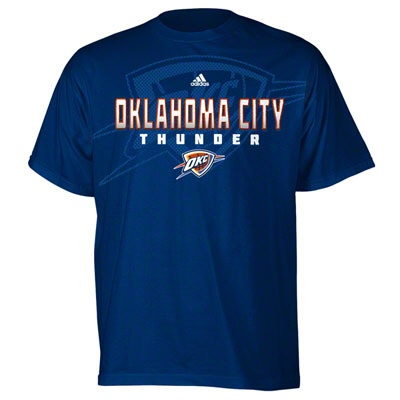 Oklahoma City Thunder Navy Oversized Primetime T-Shirt- Dad's father's day present part two