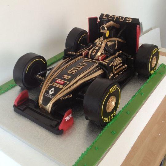 Lotus F1 Racing car