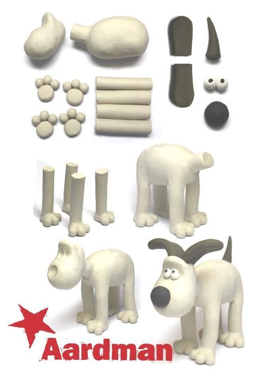 Gromit Polymer Clay Tutorial