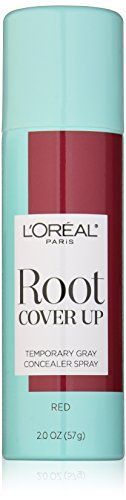 Introducing LOreal Paris Hair Color Root Cover Up Temporary Gray Concealer Spray Red 2 Ounce. Great product and follow us for more updates!