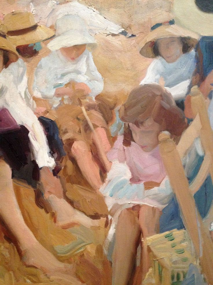 up close with Sorolla, master of light and shadow.