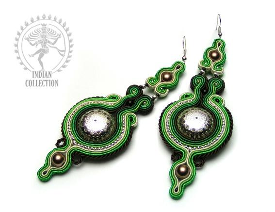 Sutasz-Anka: Silver Lotos - earrings http://www.soutage.com/2012/11/silver-lotos-kolczyki.html