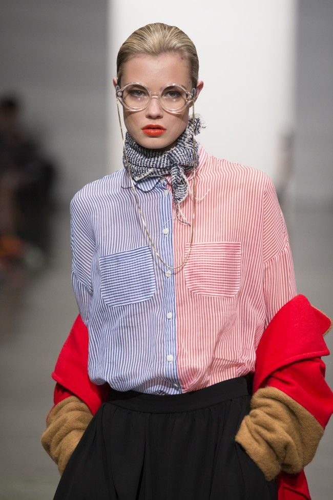 Loved this outfit from ITZME '14 / 15 ON THE STREET' at #NZFW #NewGen (Thanks for sponsoring the show #Schwarzkopf)
