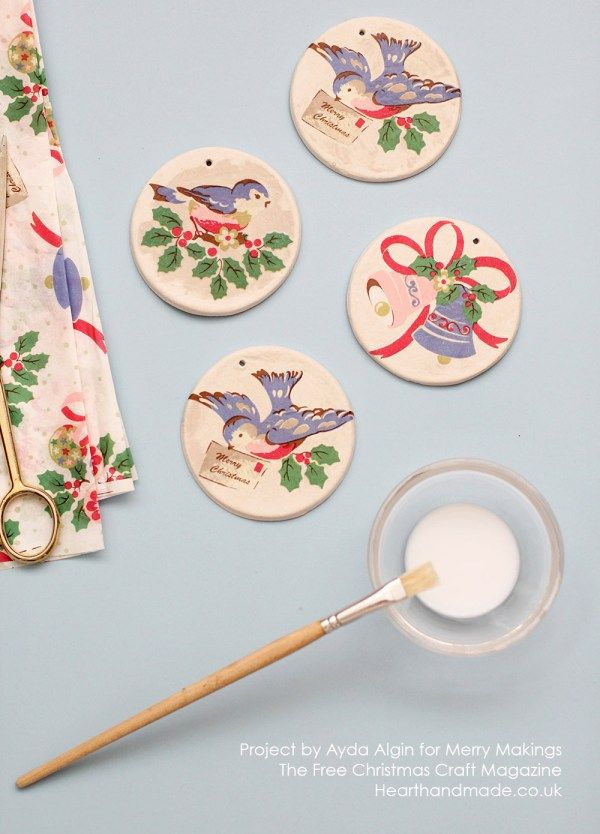 Free Christmas Crafts Ideas Part - 27: How To Make Simple Christmas Ornaments!