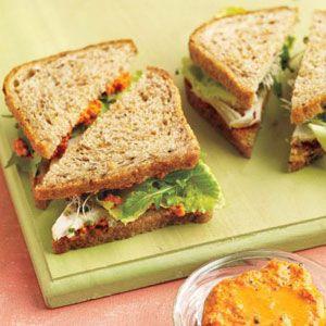Leftover Turkey Sandwich Recipes - Thanksgiving Turkey Leftovers - Delish