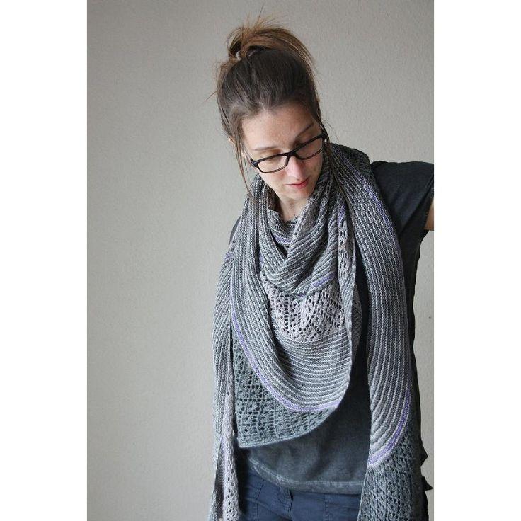 173 besten knitting_shawls, scarfs, wraps, ... Bilder auf Pinterest ...