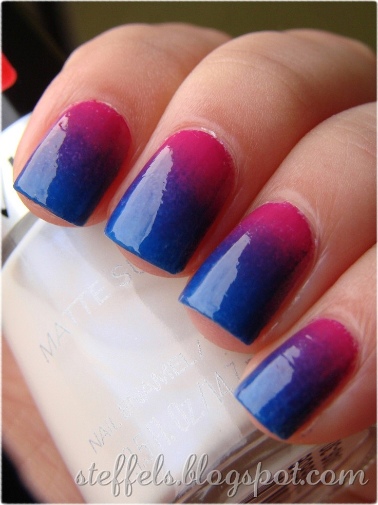 874 best Gradient nails images on Pinterest | Nail scissors, Cute ...