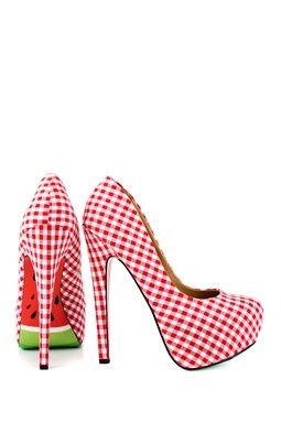 schoenen met meloen ♥