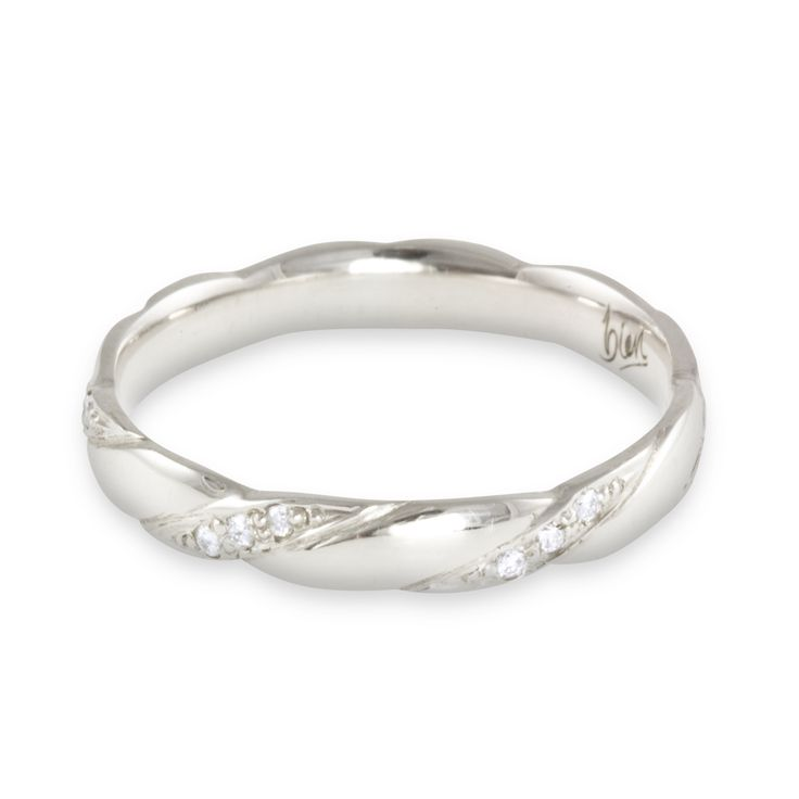 Image for White Gold Diamond Wedding Rings For Women