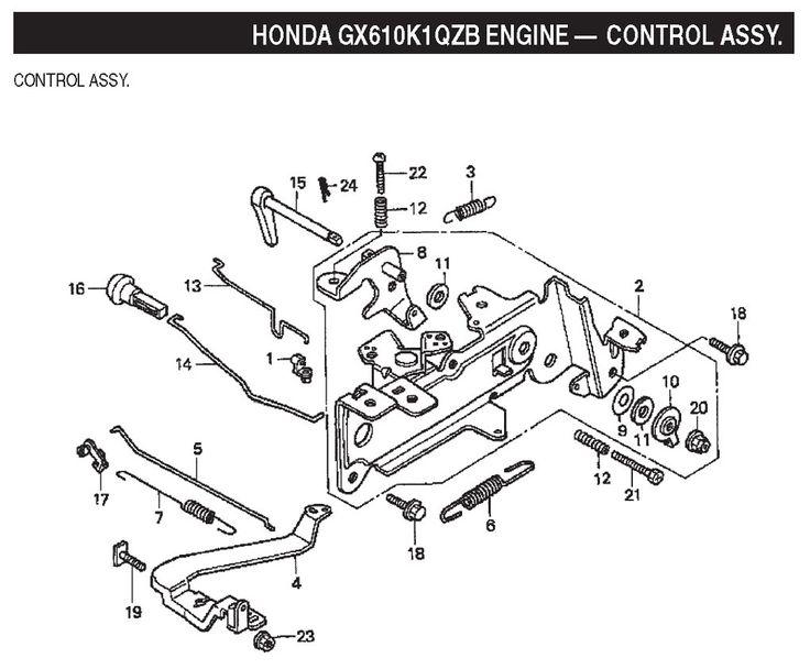 Honda Goldwing Engine
