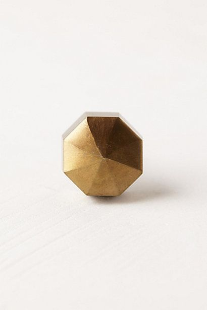 Too small for bedroom dresser? Faceted Ory Knob #anthropologie