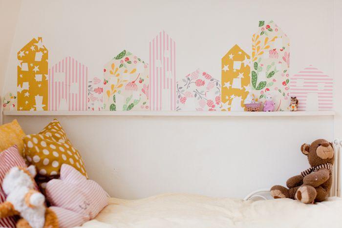 Idee fai da te per decorare la camera dei bambini kids for Idee per decorare la camera