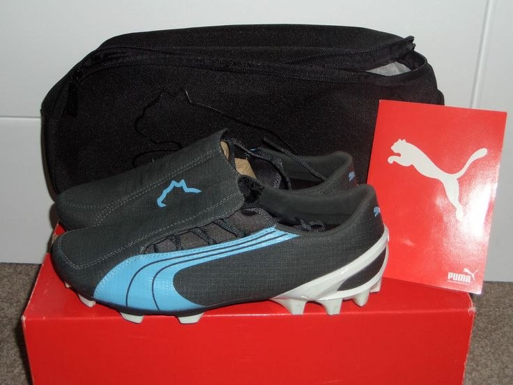 RARE 2006 PUMA V1.06 FG FOOTBALL BOOTS SOCCER CLEATS 101012 UK 10.5 BNIB MEN'S #PUMA