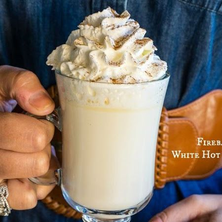 You need to sip this: #Fireball Whisky White Hot Chocolate.                                                                                                                                                                                 More